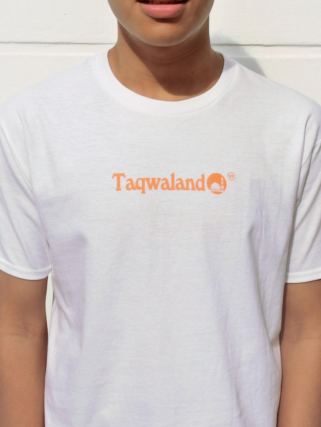 Tshirt - Taqwaland in White