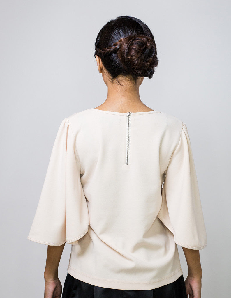 Batwing Top in Cream