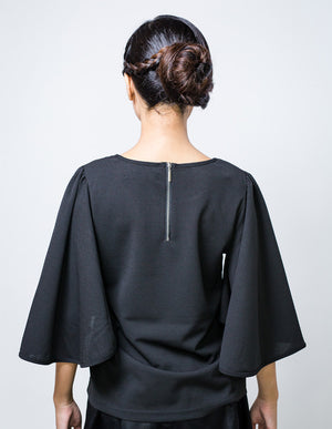 Batwing Top in Black