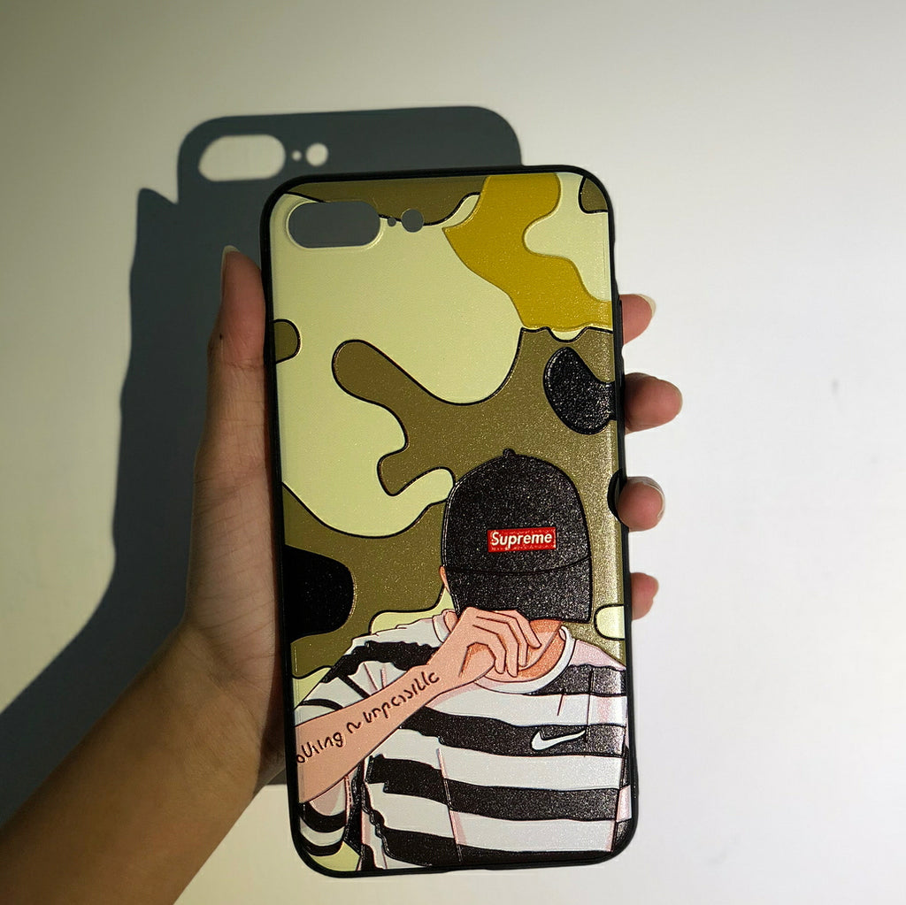 Camo Supreme Phone Case - iPhone