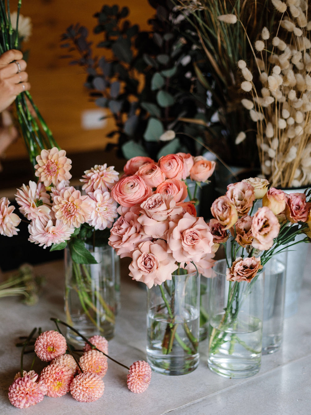 Bouquet workshop with Botanica Fresh Flowers