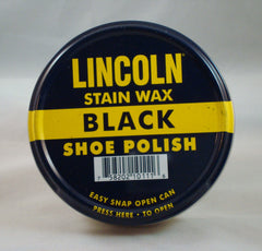 Lincoln Stain Wax Shoe Polish