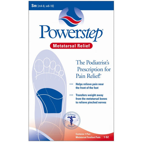 Powerstep Metatarsal Cushion Pads