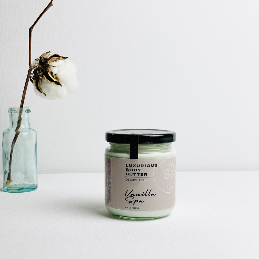 Vanilla Spa Green Tea Body Butter