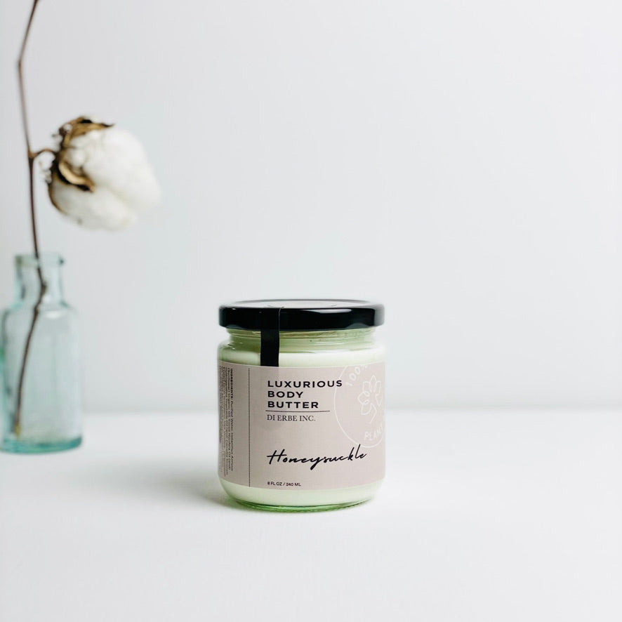 Honeysuckle Green Tea Body Butter