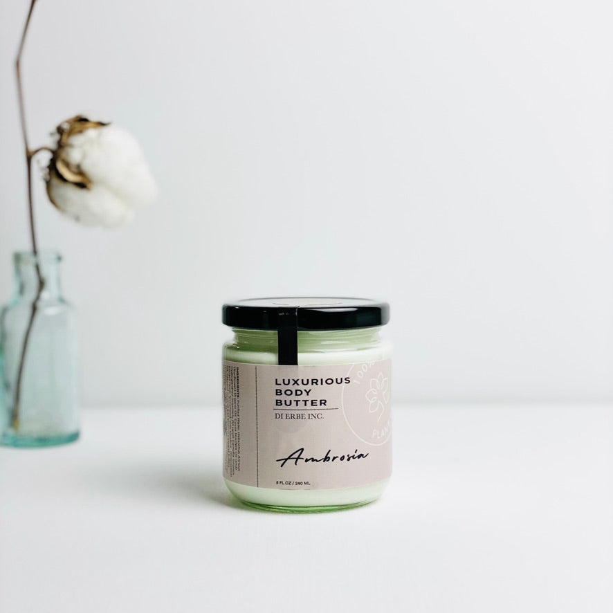 Load image into Gallery viewer, Ambrosia Green Tea Body Butter