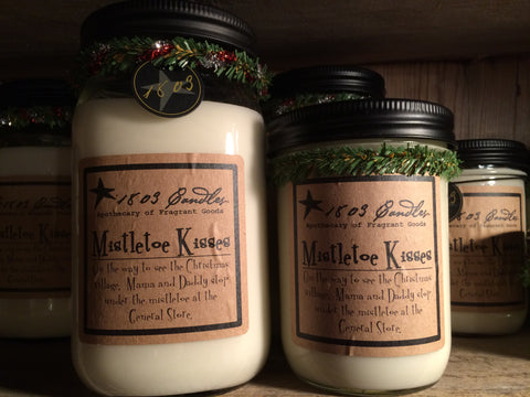 1803 Mistletoe Kisses Candle