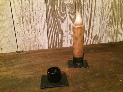 Metal Taper Candle Holder (Narrow)