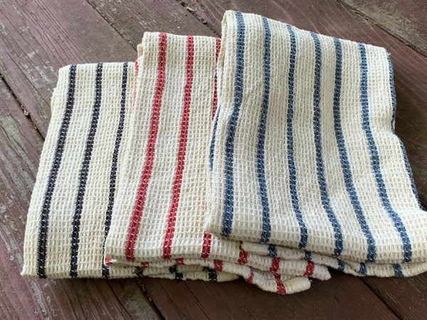 Set of Three Waffle Weave Cotton Dish towel