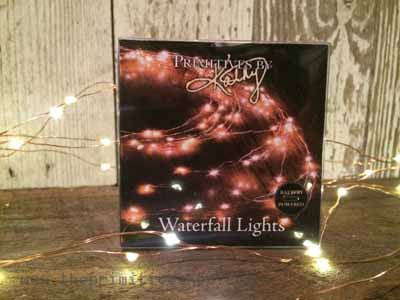 Waterfall Lights- Battery Operated