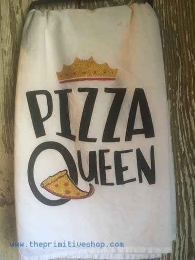 Pizza Queen Towel