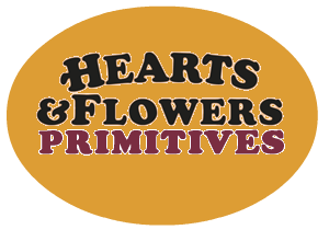 A Cheerful Giver Candles Hearts And Flowers Primitives