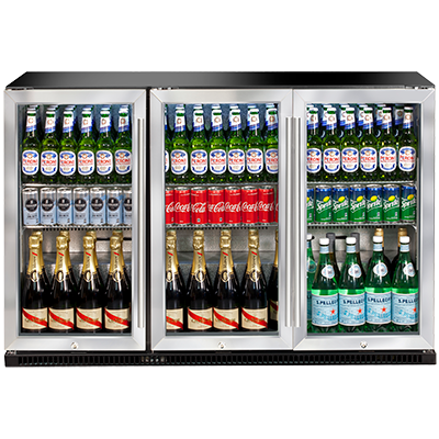 AOF3S - triple-door outdoor refrigerator