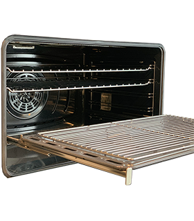 KGSET001 - TOTAL EXTRACTION RACKS FOR FREESTANDING COOKERS