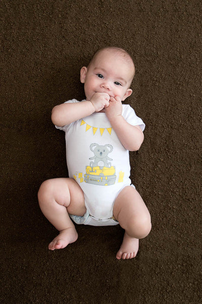 Organic Cotton Onesie - Blinky Dreams