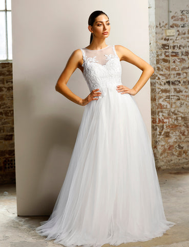 Wedding Debutant Jadore JX1085 Ivory Gown