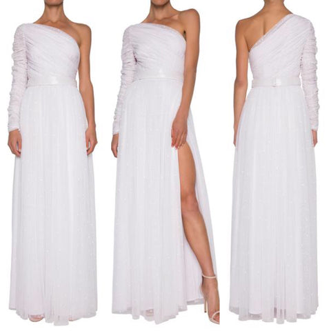 Juliette White Formal Bridal Gown Dress by Madam X