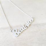 Handwritten Name Pendant, Letter Pendant, Other Custom Pieces