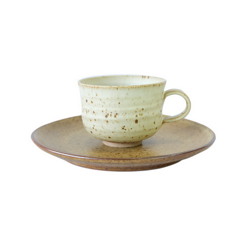 Spotted Tea Cup & Saucer Set