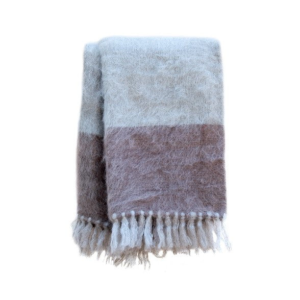 Moroccan Brushed Mohair Blanket