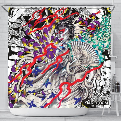 FanGirl Shower Curtain