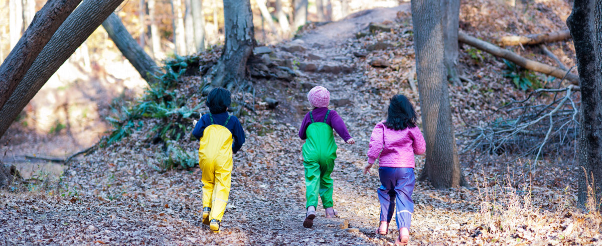 Fall to Spring Forest School and Outdoor Gear: What Do I Really Need?