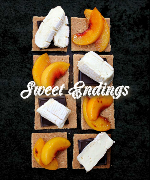 joythebaker peach and brie smores