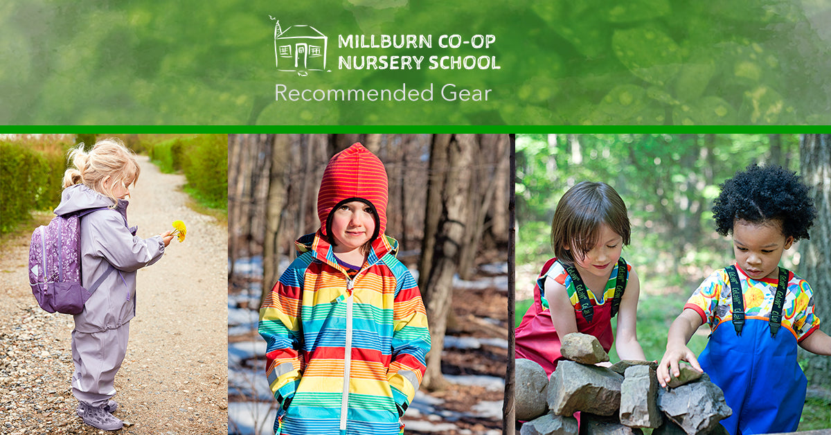 millburn cooperative preschool NJ gear recommendations