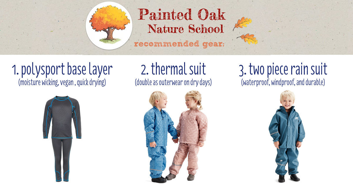 Painted Oak Nature Preschool Clothing Supply at Biddle and Bop