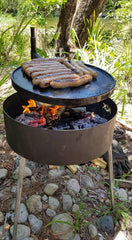 BBQ Post for Plates, Grills, Fire Pits and BBQ Pans
