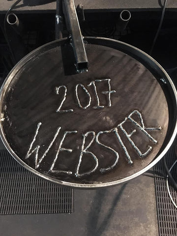 Engraved Welding on BBQ Gear