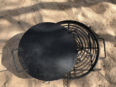 Folding Grill with Drop in Hot Plate & Hook