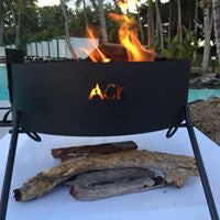 FOLDING FIRE PIT FREE DELIVERY $140