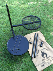 SWINGING HOT PLATE & GRILL with 2 pc Post option