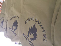 CANVAS STORAGE BAG 12 OZ for the AUSSIE FIRE PIT