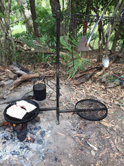 SWINGING HOT PLATE & GRILL