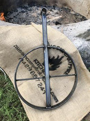 Camping Fire Pit, Grill, BBQ Pan & Cradle