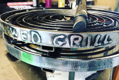 Embossing Personalise your BBQ PANS and HOT PLATES