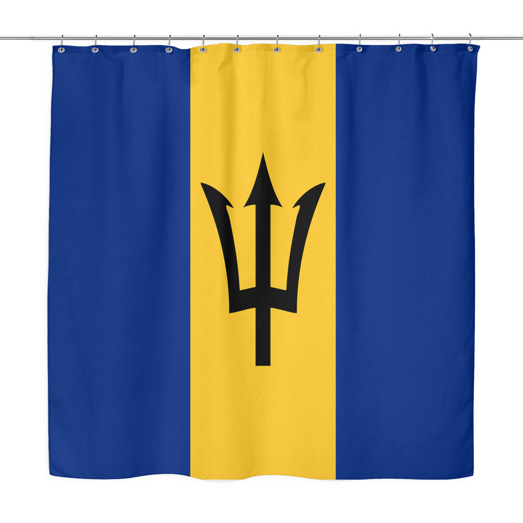 Bajan Shower Curtain (Barbados)
