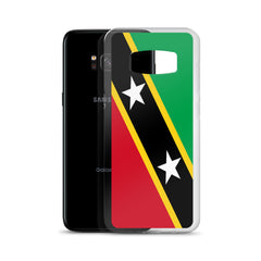 Saint Kitts and Nevis Flag Custom Samsung Case