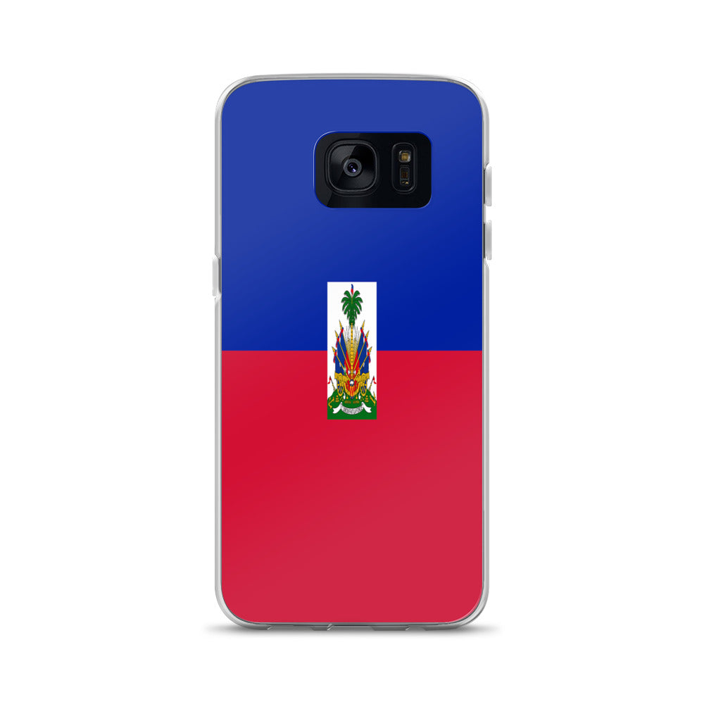 Haitian Flag Custom Samsung Case