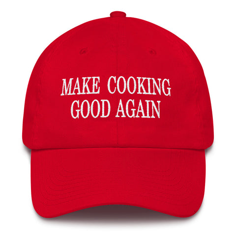 Make Cooking Good Again
