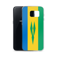 Saint Vincent and the Grenadines Flag Custom Samsung Case