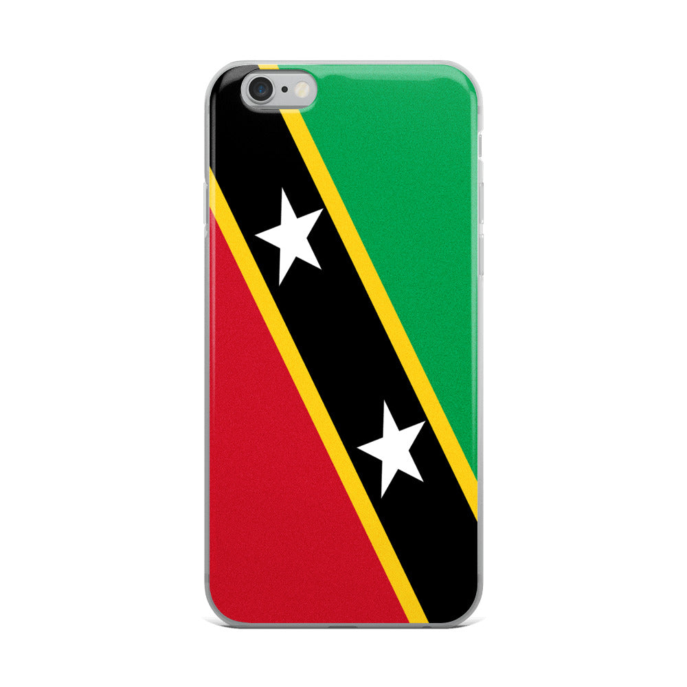 Saint Kitts and Nevis Flag Custom iPhone Case