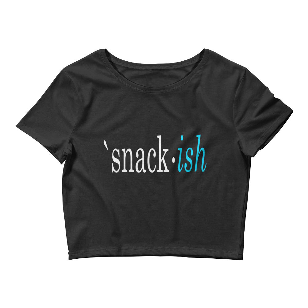 Snack Ish Crop Top