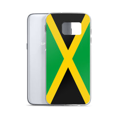 Jamaican Flag Custom Samsung Case