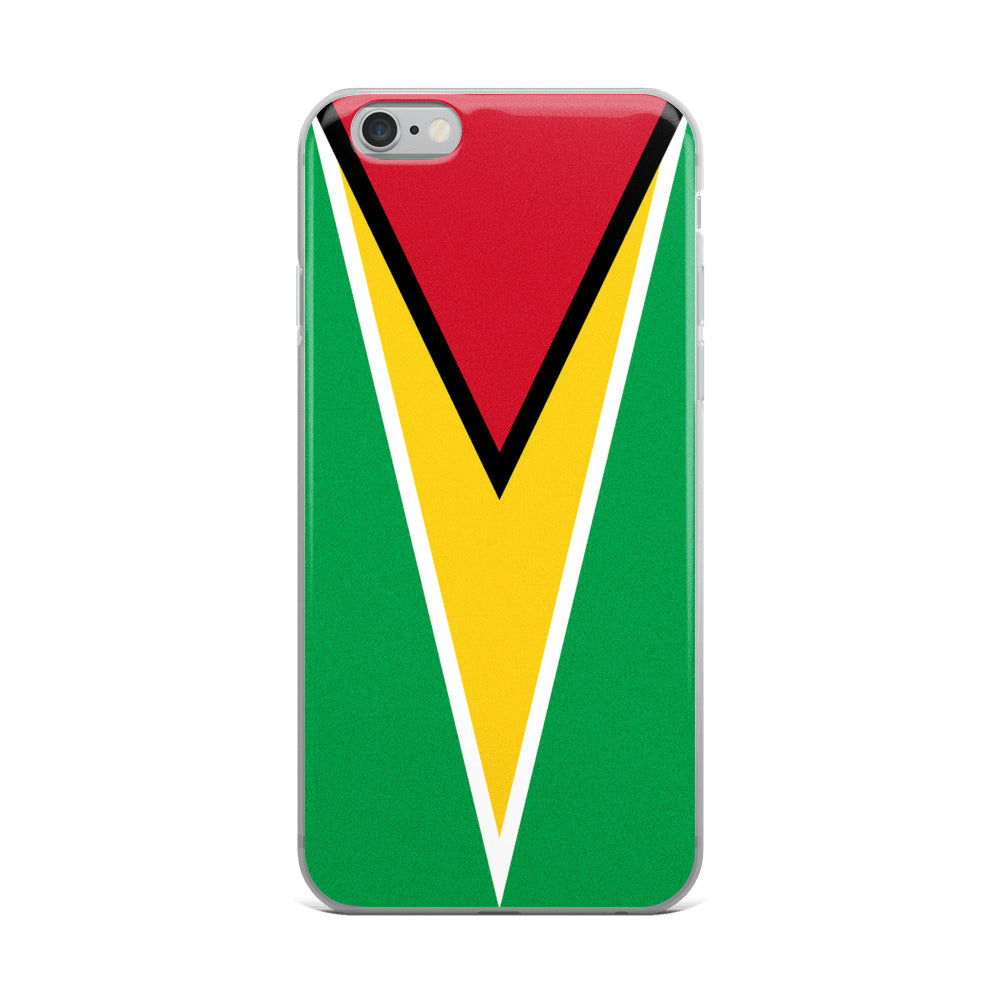 Guyana Flag Custom iPhone Case