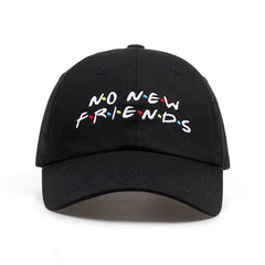 No New FRIENDS  - Dad Hat