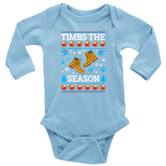 #TimbsTheSeason Ugly Christmas Baby Bodysuit
