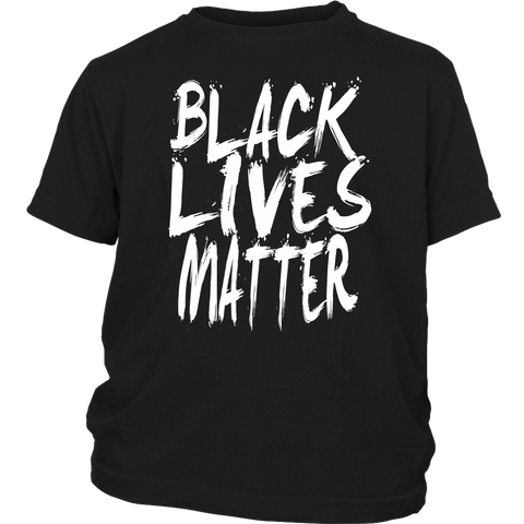 Black Lives Matter Youth T-Shirt - #BLM